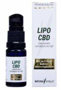Lipo CBD Natura Vitalis - liposomales CBD 4%
