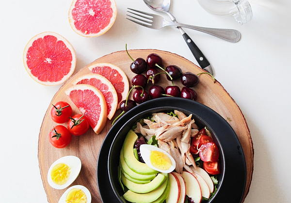 eine gesunde ausgewogene Ernährung wirkt sich positiv auf den Stoffwechsel aus