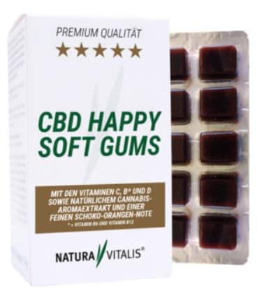 Natura Vitalis CBD Happy Soft Gums