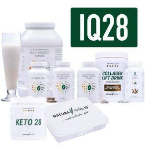 IQ28 Set von Natura Vitalis (das sind die enthaltenen Produkte)